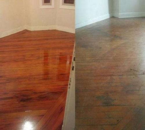 Restauração piso de madeira valor