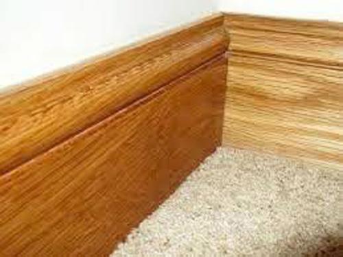 Rodapé de madeira preço por metro
