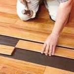Instalação de piso pronto