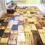 Piso pronto de madeira estruturado